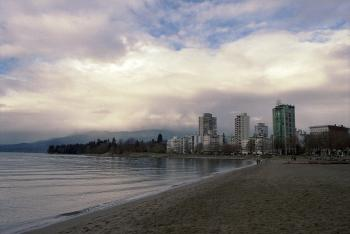 Vancouver West End Winter