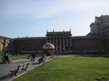 Vatican museum garden
