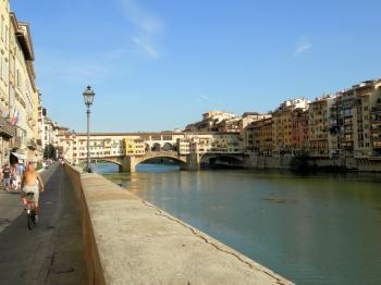Vecchio Bridge in Florence, Italy