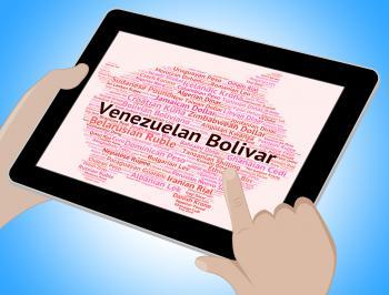 Venezuelan Bolivar Means Currency Exchange And Broker