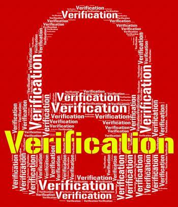 Verification Lock Indicates Guaranteed Authentic And Authenticit
