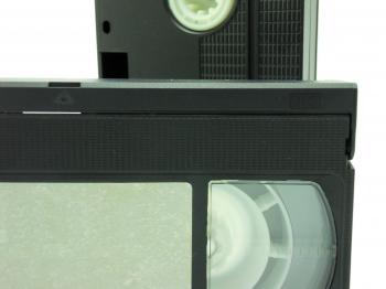 VHS cassettes