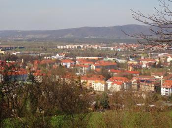 View from Kohlberg towards Borsberg