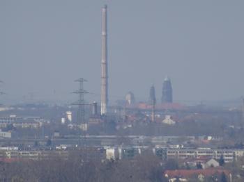 View from Kohlberg towards Dresden