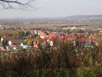 View from Kohlberg towards Postweg