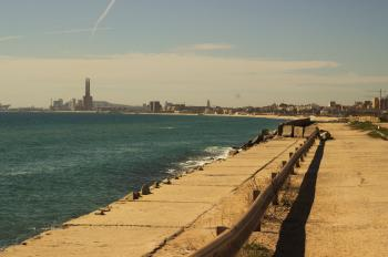 View of Badalona Seafront
