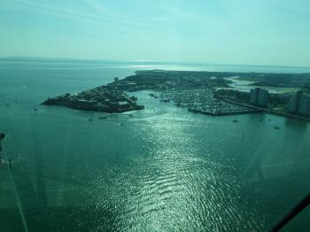 View over gosport