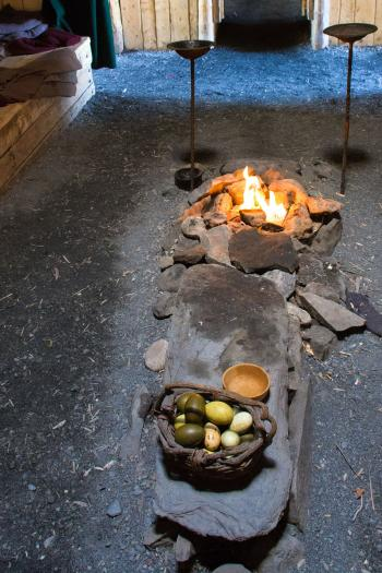 Viking Fireplace