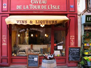 Vins & Liqueurs Store during Daytime