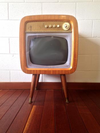 Vintage 1960s TV Set