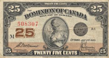 Vintage Banknote - Dominion of Canada