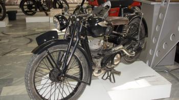 Vintage Izh Motorcycle