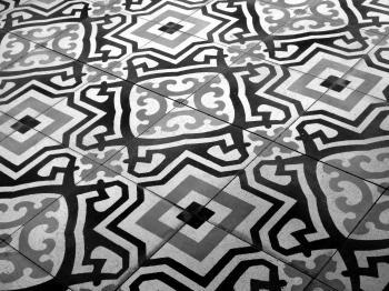 Vintage Patterned Floor Tiles