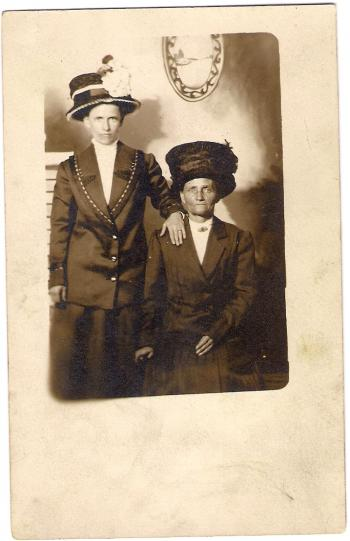 Vintage Photo Women in Hats