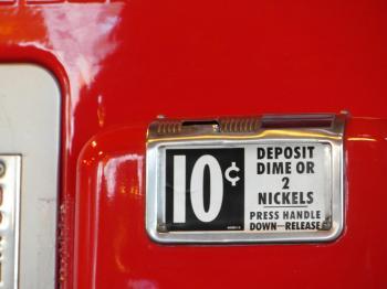 Vintage Red Vending Machine