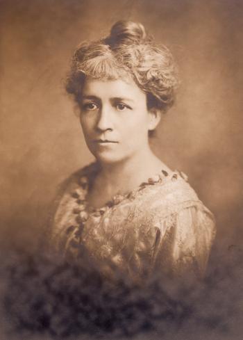Vintage Sepia Portrait - Circa 1918