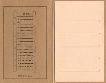 Vintage Stamp Album Insert