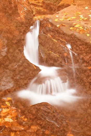 Vintage Velvet Waterfall
