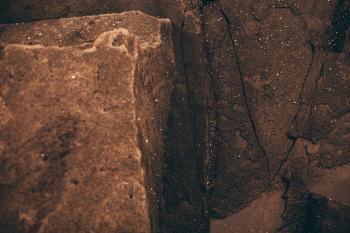 Vintage Volcanic Rock Texture