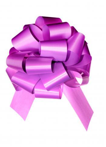 Violet bow