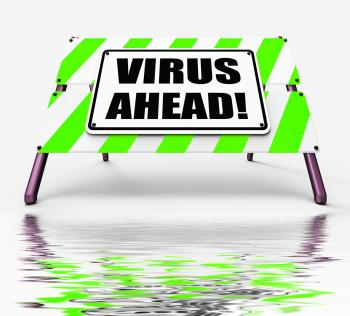 Virus Ahead Displays Viruses and Future Malicious Damage