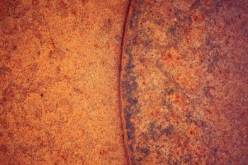 Vivid Rusty Metal Background
