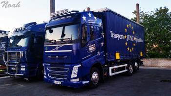 Volvo - Transporte JUNG Spedition -