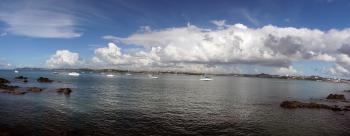Waitemata Harbour. Auckland NZ.