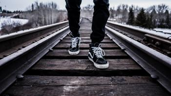 Walking On The Rail