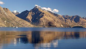 Walter Peak. Lake Wakatipu. NZ