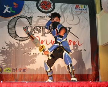 Warrior Cosplayer