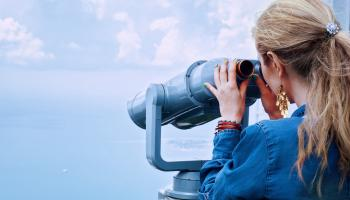 Watching through the Binoculars