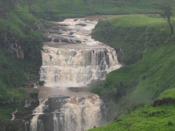 Water fall in Sri Lanka