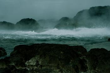 Water meets Ocean
