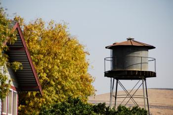 Water Tank in the Foothills