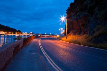 Waterford Twilight Street Scene