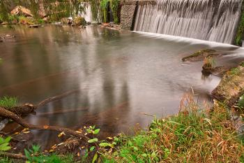 Waterside Mill Falls - HDR