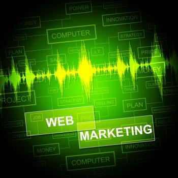 Web Marketing Means Network Sem And E-Marketing