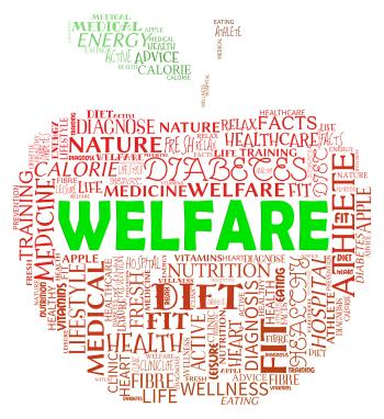 Welfare Apple Means Health Check And Care