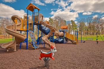 Wellesley Island Playground - HDR