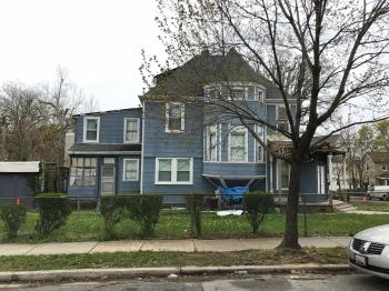 West elevation, House, 702 Gorsuch Avenue, Baltimore, MD 21218