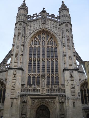 West view Bath Abbey