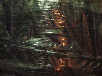 Wet plastic texture