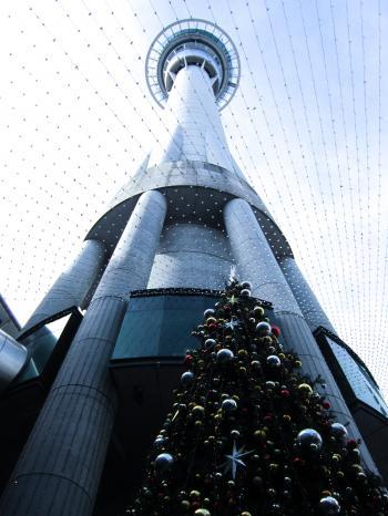 White and Black Concrete Tower