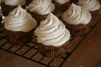 White and Brown Cupcake Lot