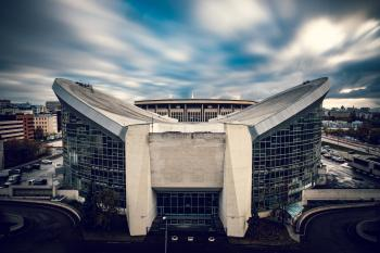 White Concrete Stadium