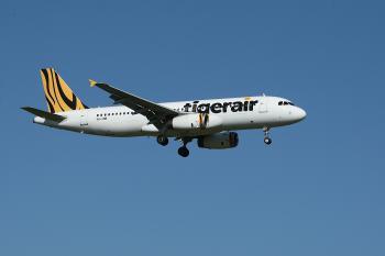 White and Yellow Tigerair Airplane