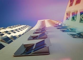 White Building Under Blue Sky
