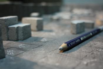 White Color Pencil
