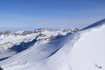 White Snows on Mountain at Daytime